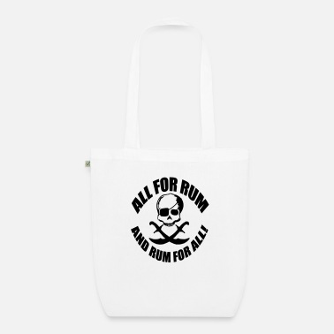 Rum All for rum and rum for all - Organic Tote Bag