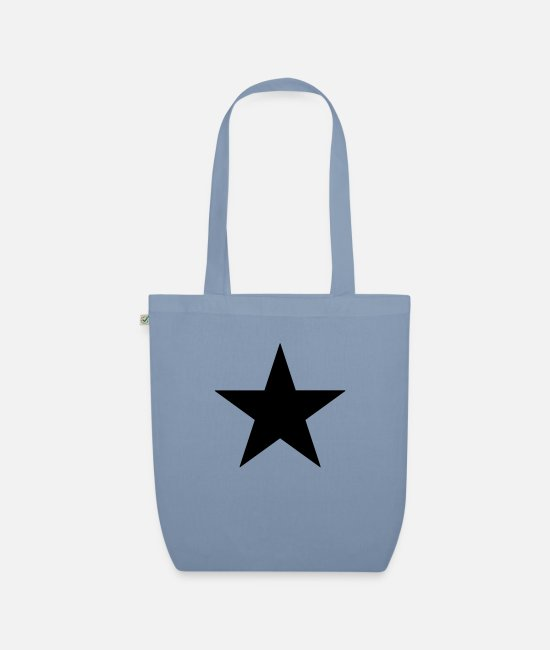 Star Sky Bags & Backpacks - Star - Organic Tote Bag steel blue