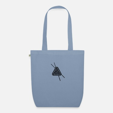 Cue triangle cue - Organic Tote Bag
