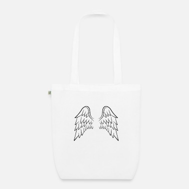 Wing Angel wings wings - Organic Tote Bag