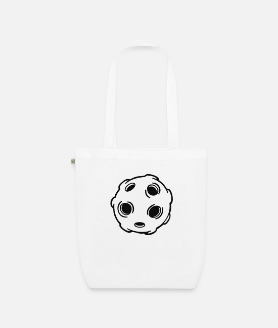 Letter Boxing Bags & Backpacks - planet - Organic Tote Bag white