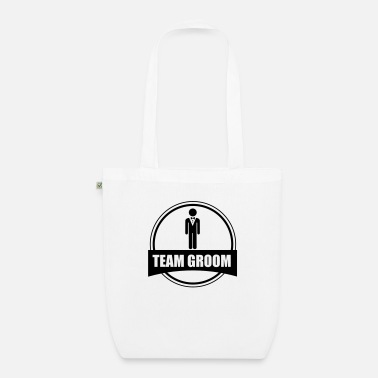 Stag Do TEAM GROOM - Stag do - Organic Tote Bag