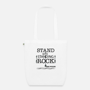 Stand STAND WITH STANDING ROCK - Organic Tote Bag