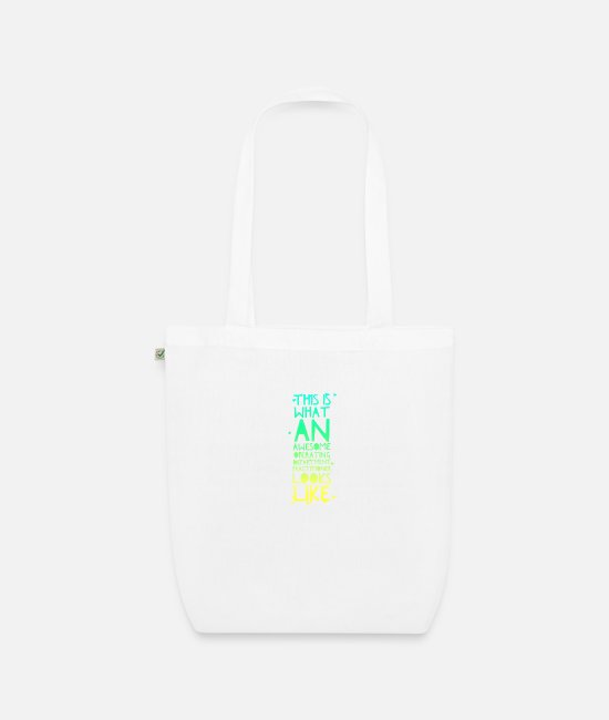 Operating Department Practice Bags & Backpacks - Awesome ODP - Organic Tote Bag white