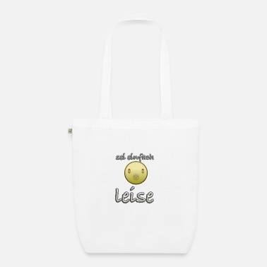 be quiet - Organic Tote Bag