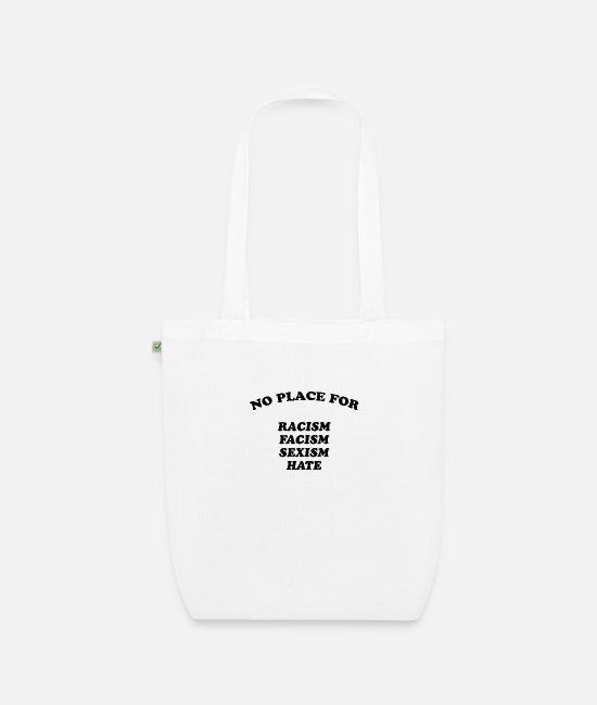 Quote Bags & Backpacks - No place - Organic Tote Bag white