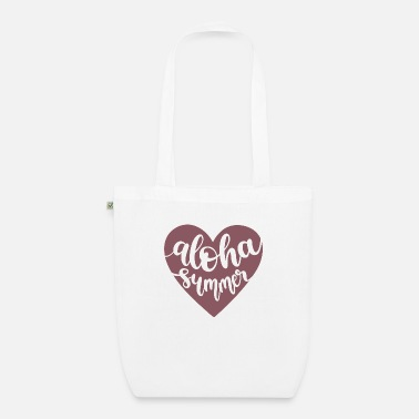 Vacation Aloha summer - Organic Tote Bag