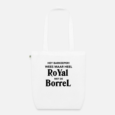 Borrel Royal met de Borrel - Bio stoffentas