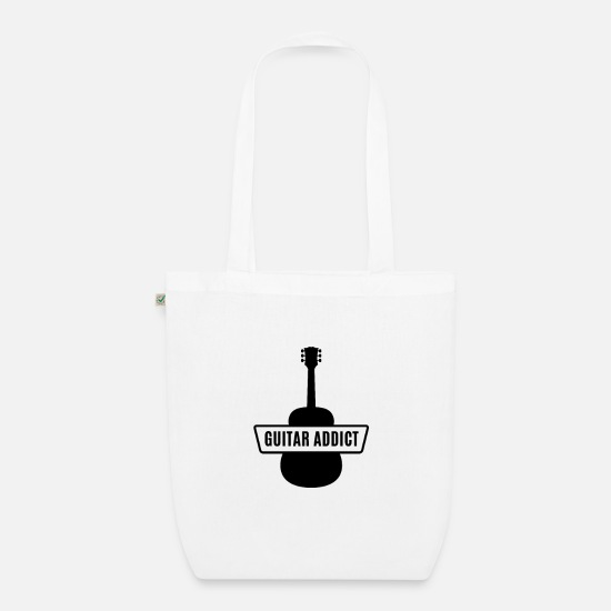 Gift Idea Bags & Backpacks - Guitar - Guitar - Organic Tote Bag white