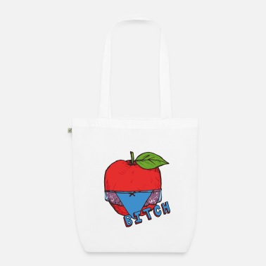 Healthy Underwear Apple Thong Underwear Bitch Funny Sexy - Organic Tote Bag