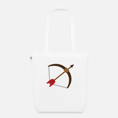 Arrow And Bow Bow and arrow - bow and arrow - Organic Tote Bag