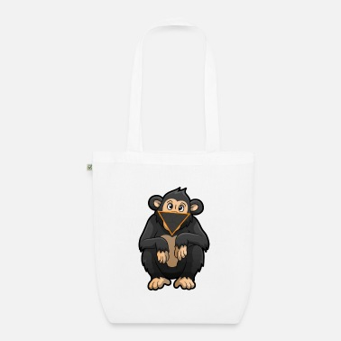 Facemask Facemask Monkey - Organic Tote Bag