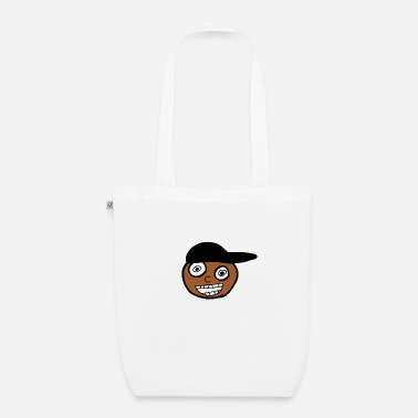 Kid In A Cap Full Face - Organic Tote Bag
