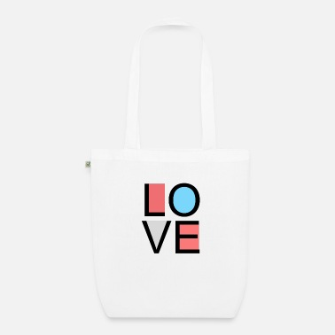 Lovely love - Organic Tote Bag