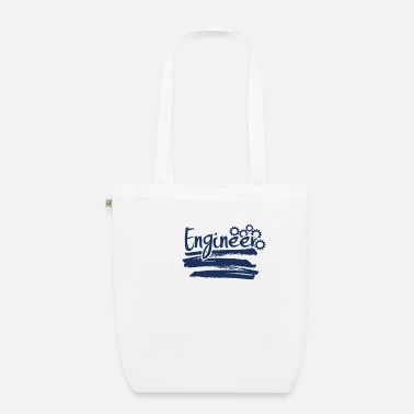 Engineering Engineer engineer engineer engineer - Organic Tote Bag