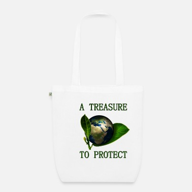 A Treasure to Protect (our Planet) - Bio Stoffbeutel