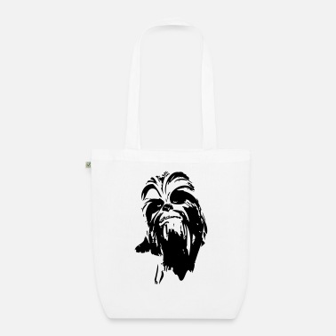 Chewbacca Funny chewbacca monster fur hair star friend beard dart - Organic Tote Bag
