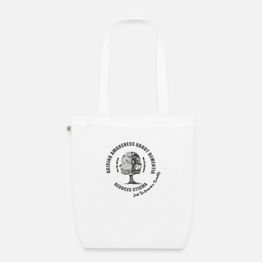 Vascular Dementia Reducing the Stigma of Dementia - Organic Tote Bag