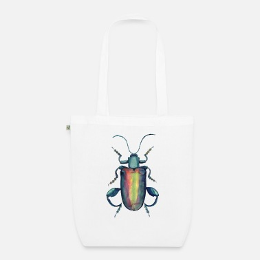 Illustration Beetle with strong thighs - Organic Tote Bag