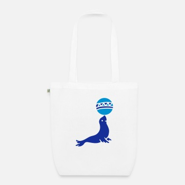 Sea Sea Lion Sea - Organic Tote Bag