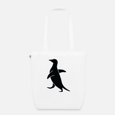 Waddle A waddling penguin - Organic Tote Bag