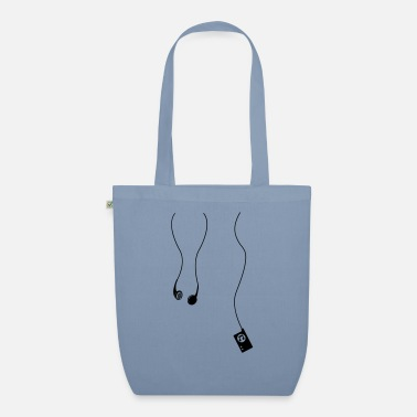 Mp3 headphones mp3 - Organic Tote Bag