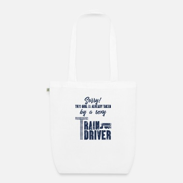 Train Driver Train driver, train conductor, railway, subway, ICE, train - Organic Tote Bag