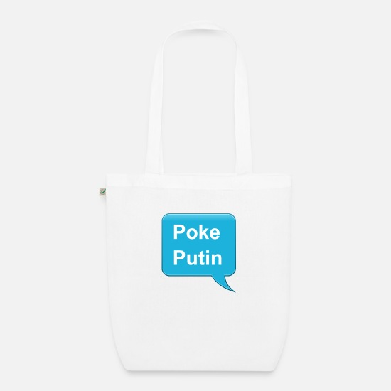 Mockery Bags & Backpacks - Poke Putin - Organic Tote Bag white