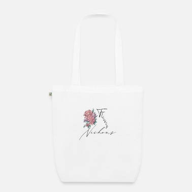 Underwear Flowered boobs - Organic Tote Bag