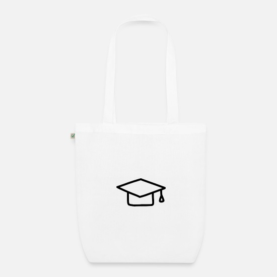 Birthday Bags & Backpacks - Back To School Gift School Student Schoolgirl L - Organic Tote Bag white