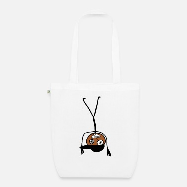 Kid In A Cap Handstand - Organic Tote Bag