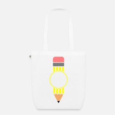 Pen Pencil pen pen fountain pen - Organic Tote Bag