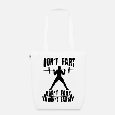 Squat Fitness Squats Funny - Organic Tote Bag