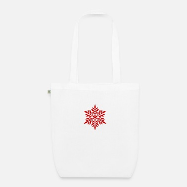 Flake Red flake - Organic Tote Bag