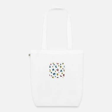 Poste Colorful abstract geometric background - Sac en tissu bio