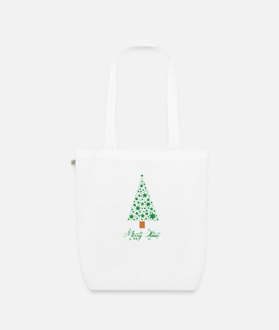 Christmas Bags & Backpacks - Merry Xmas christmas xmas gift - Organic Tote Bag white