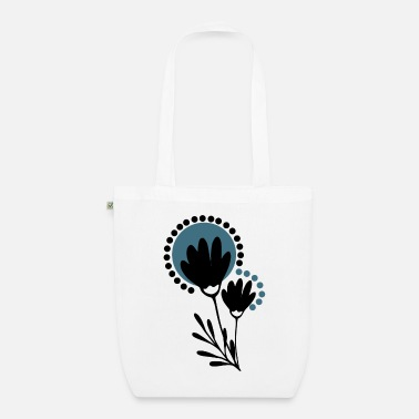 Scandi flowers - Organic Tote Bag