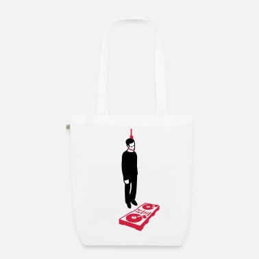 Fun hang the dj (2-3 color) - Organic Tote Bag