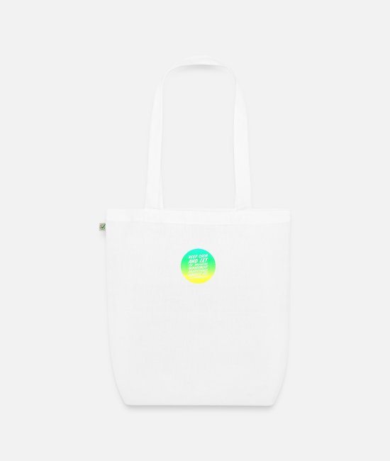 Operating Department Practice Bags & Backpacks - Keep calm 3 - Organic Tote Bag white