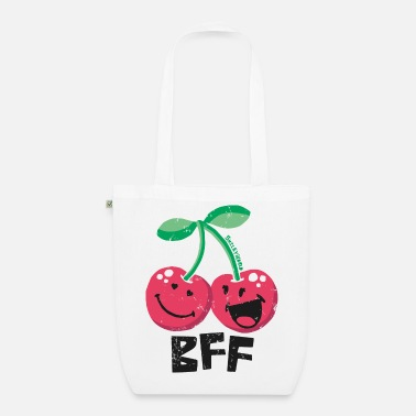 Easter SmileyWorld 'BFF Cherries' teenager t-shirt - Organic Tote Bag