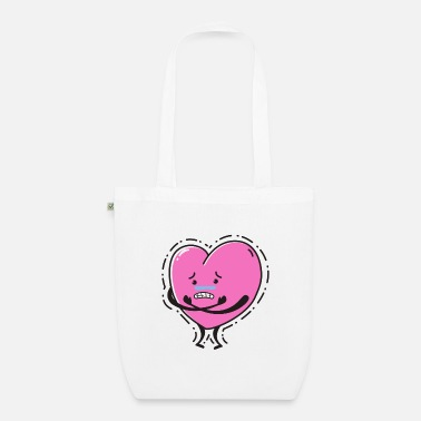 Heart A sad heart - Organic Tote Bag