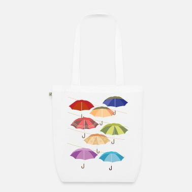 Photo Umbrellas Zurich West - Organic Tote Bag