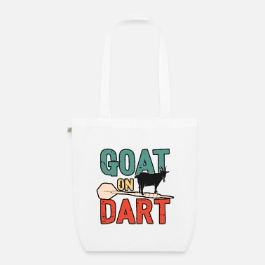 Dance I want to play darts - Organic Tote Bag