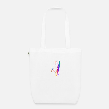 Swiss German Colorful dog - Organic Tote Bag