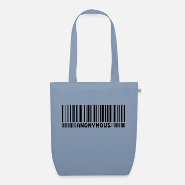 We Do Not Forgive Anonymous Barcode - We Are Legion - Shirt - Organic Tote Bag