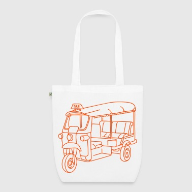 Tuk-tuk or autorickshaw - EarthPositive Tote Bag