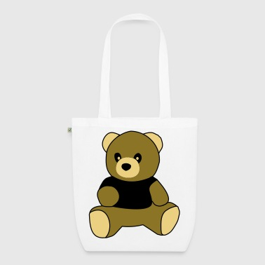 sitting teddy - EarthPositive Tote Bag
