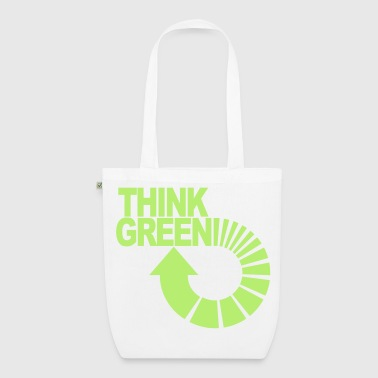think green - EarthPositive Tote Bag