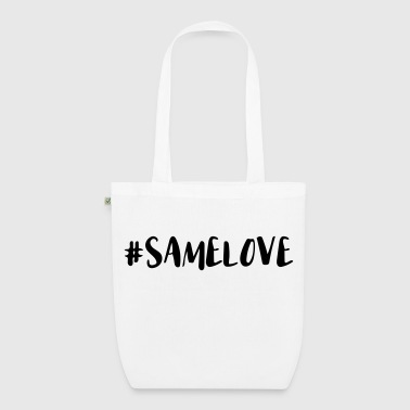 Same Love Hashtag - EarthPositive Tote Bag