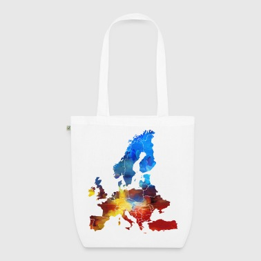 Europe - EarthPositive Tote Bag
